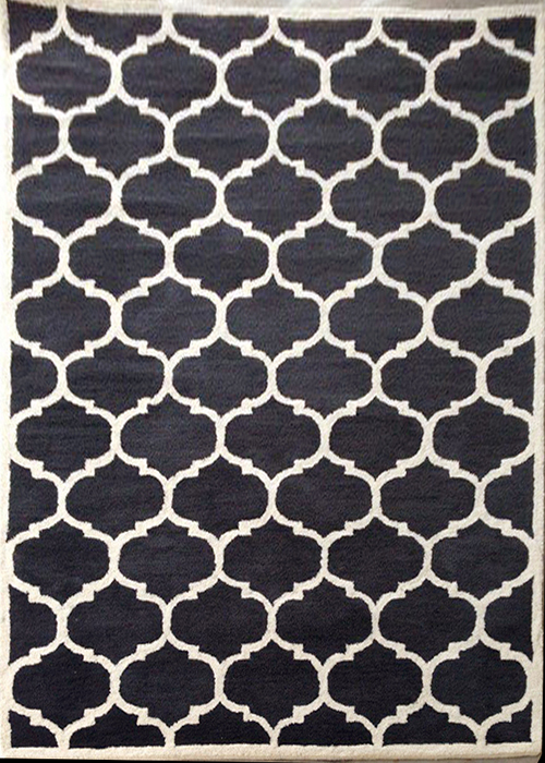 Hand Tufted Black