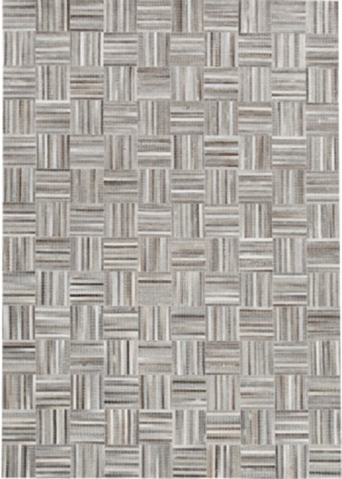 Leather Rug Stripe
