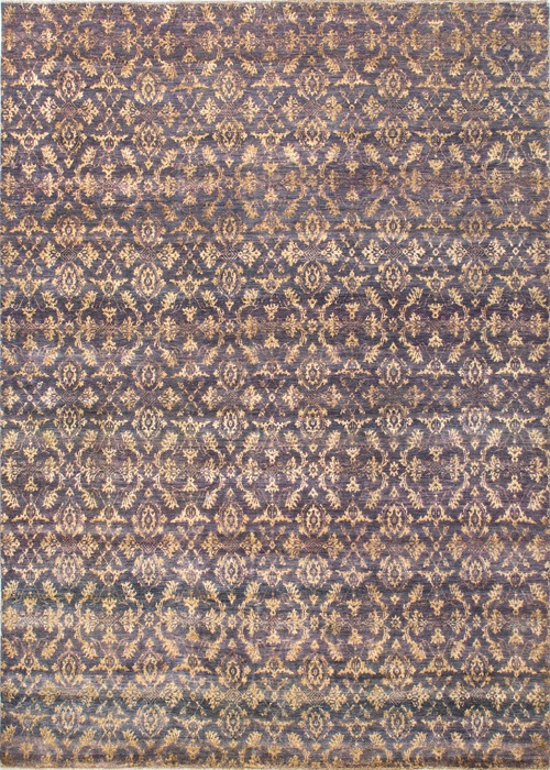Persian Wool Silk Grey/Gold