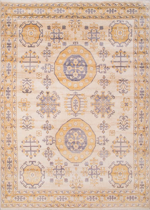Persian Wool Silk Beige