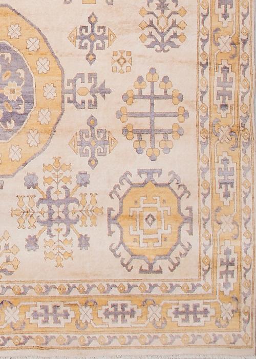 Persian Wool Silk Beige