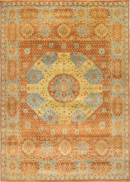 Persian Wool Silk Mamluk