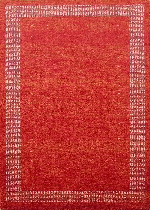 Tribal Gabbeh Rug Red/Gold
