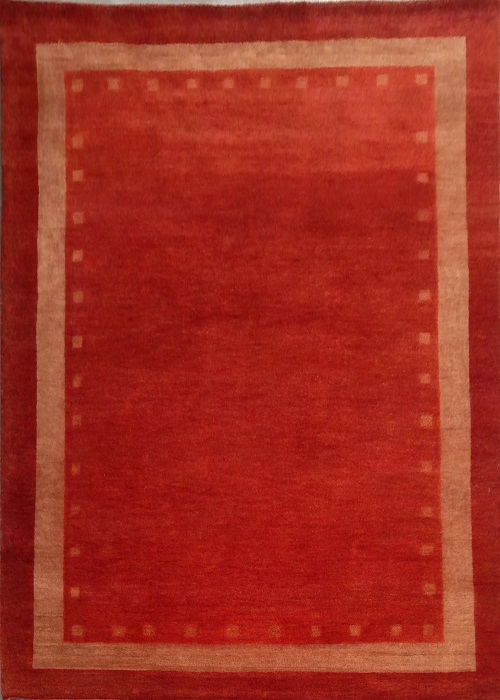 Tribal Gabbeh Rug Red/Red